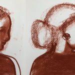 Konstutställning Skulptur & Teckning